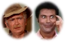 Jed Clampett and Jethro Bodine