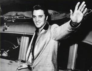 Elvis Leaving the building