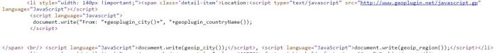 geopluginscript