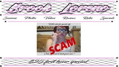 Brook Loreno Scam