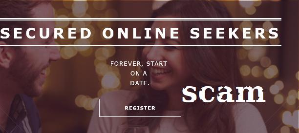 Secured online seekers site